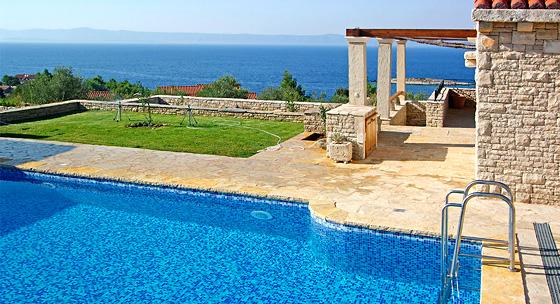 Luxusvilla am meer mit pool  Kroatien Urlaub Ferienhaus mit Pool, Ferienwohnung & Villen ...